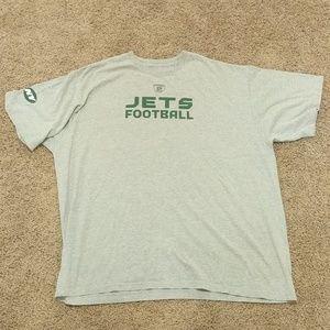 VTG NFL New York Jets t-shirt Men's 2xl Gray Fair